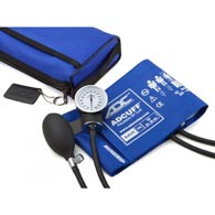 ADC 768-641-11ARB Pro Combo II Royal Blue Sphygmomanometer Latex Free