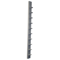 CanDo 10-0575 Dumbbell Wall Rack-10 Dumbbell Capacity