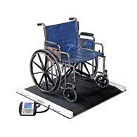Detecto BRW1000 (BRW-1000) Portable Bariatric Wheelchair Scale