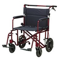 Drive Medical ATC22-R Bariatric Heavy Duty Transport Wheelchair