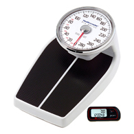 Health o meter 160LB Professional Home Care Scale and FREE Pedometer